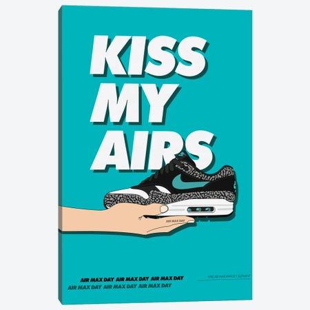 Kiss My Airs Canvas Print #ASX69} by avesix Canvas Artwork