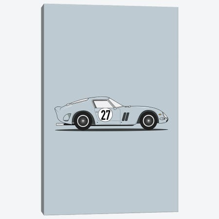 Ferrari 250 GTO Canvas Print #ASX72} by avesix Art Print
