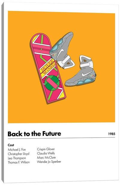 Back 2 The Future Canvas Art Print
