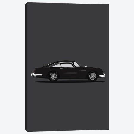 Aston Martin DB5 Canvas Print #ASX76} by avesix Canvas Wall Art