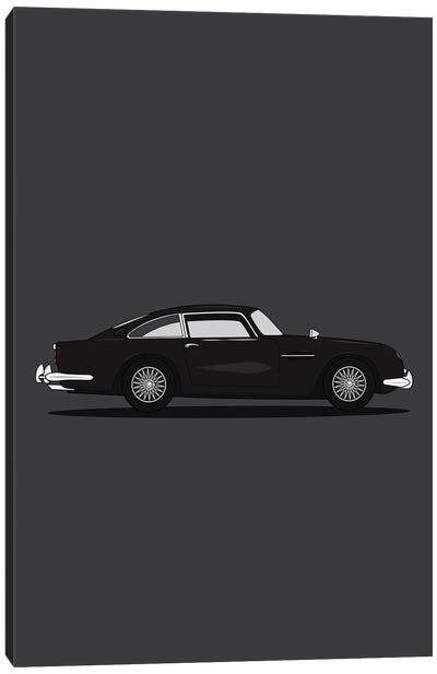 Aston Martin DB5 Canvas Art Print