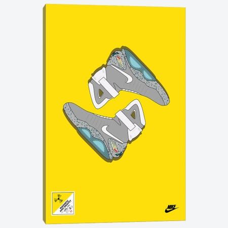 Air Mags Canvas Print #ASX81} by avesix Canvas Wall Art