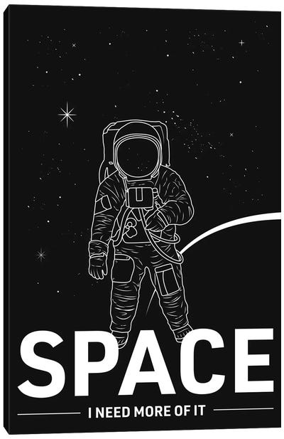 Give Me More Space Canvas Art Print