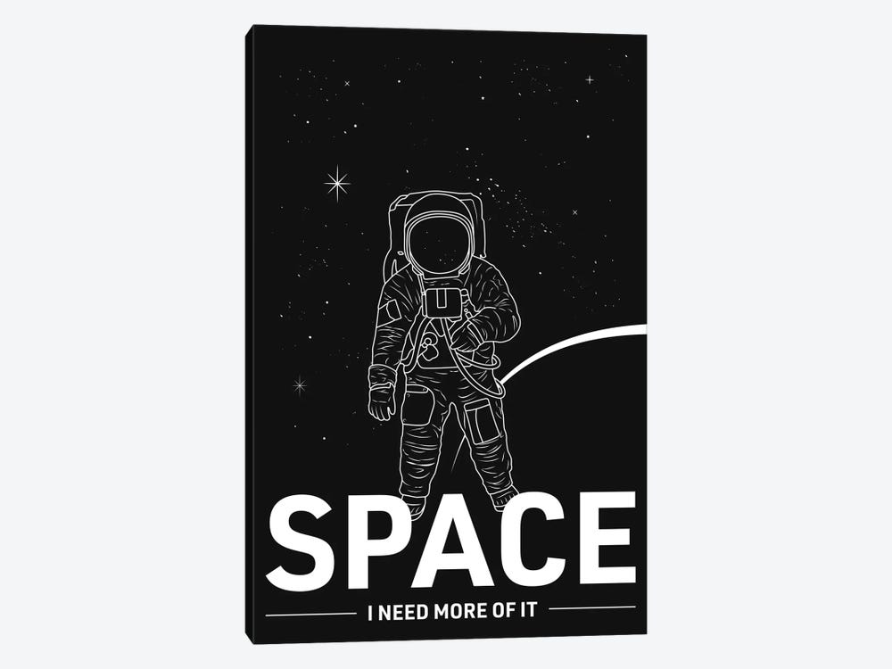 Give Me More Space by avesix 1-piece Canvas Artwork