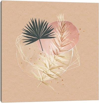 Reminders Of Spring - Pastel Botanical Canvas Art Print