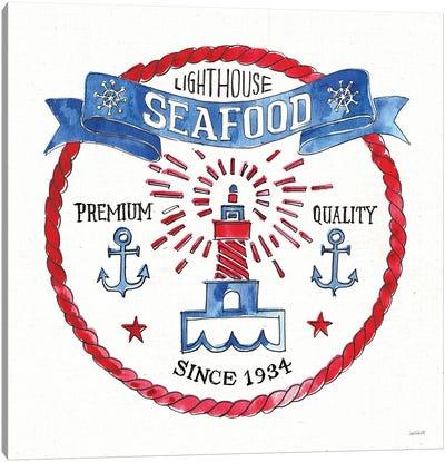 Seafood Shanty VI Canvas Art Print