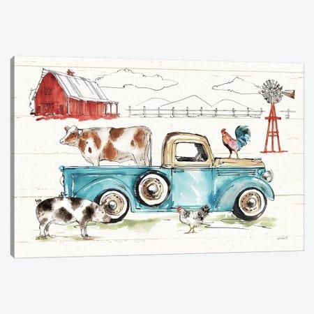 Down on the Farm I No Words Canvas Print #ATA103} by Anne Tavoletti Canvas Art