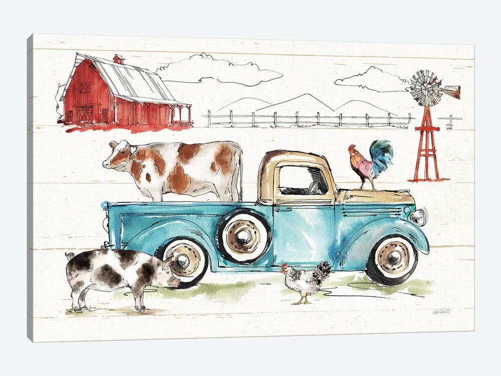 Down on the Farm I No Words by Anne Tavoletti 1-piece Canvas Art