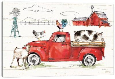 Down on the Farm II No Words Canvas Art Print