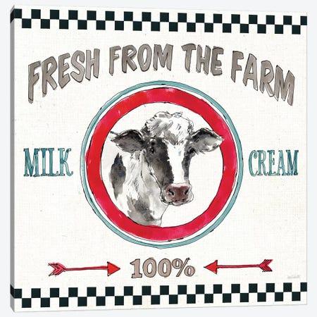 Farm Signs III Canvas Print #ATA107} by Anne Tavoletti Canvas Print