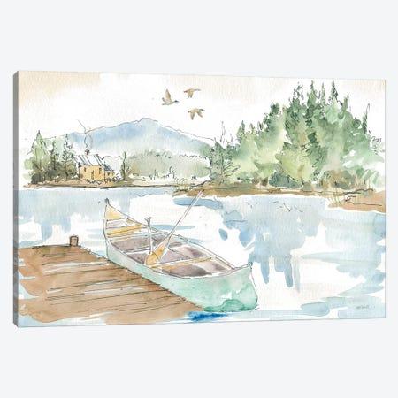 Lakehouse I Canvas Print #ATA117} by Anne Tavoletti Canvas Art