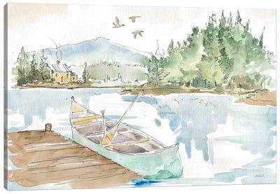 Lakehouse I Canvas Art Print