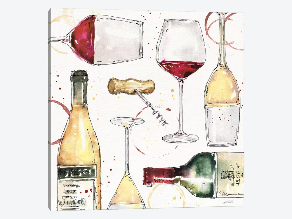 Oaked and Aged III by Anne Tavoletti 1-piece Art Print