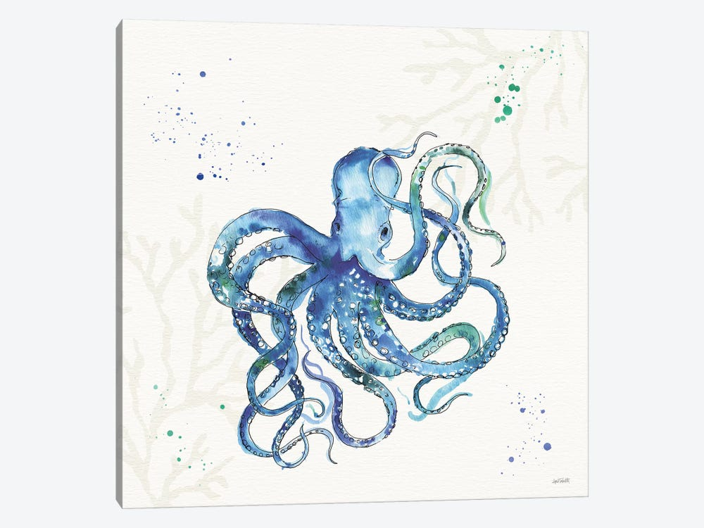 Deep Sea II No Words by Anne Tavoletti 1-piece Canvas Art Print