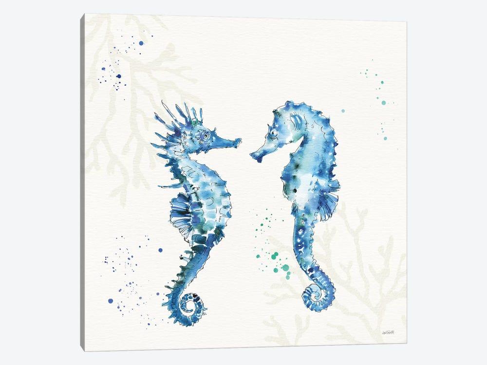 Deep Sea III No Words by Anne Tavoletti 1-piece Canvas Art