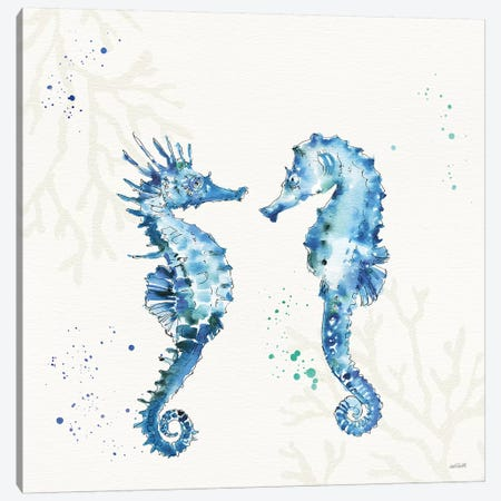 Deep Sea III No Words Canvas Print #ATA129} by Anne Tavoletti Canvas Art