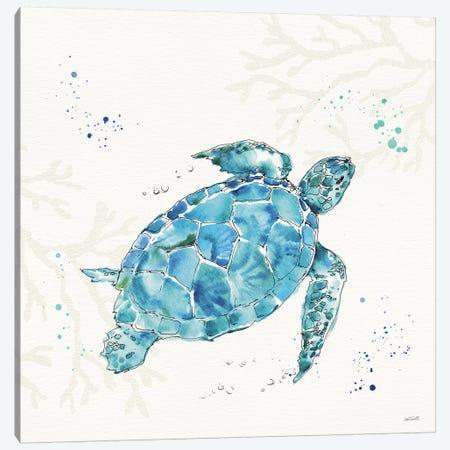 Deep Sea IV No Words Canvas Print #ATA130} by Anne Tavoletti Canvas Art Print