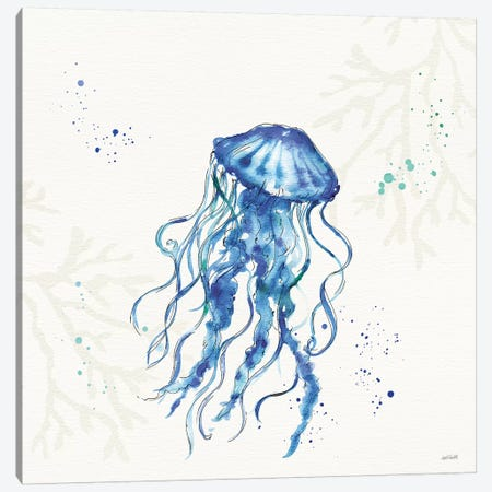 Deep Sea V No Words Canvas Print #ATA131} by Anne Tavoletti Canvas Art Print