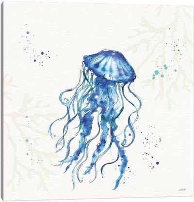 Deep Sea V No Words Canvas Art Print