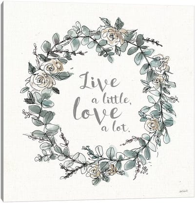 Modern Farmhouse VI Live Canvas Art Print