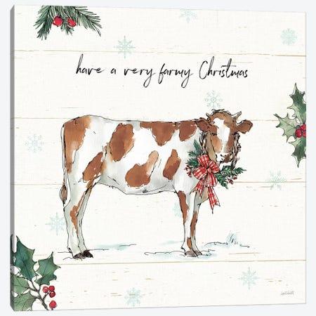 Holiday on the Farm III Canvas Print #ATA146} by Anne Tavoletti Canvas Print