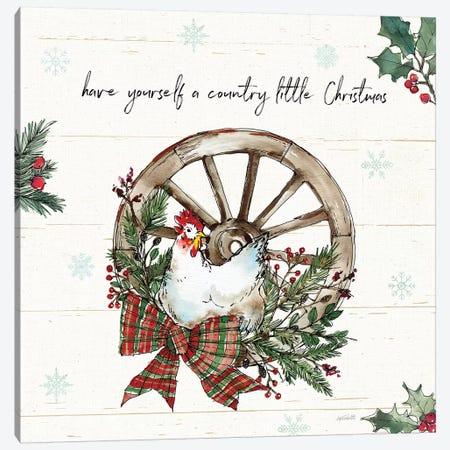 Holiday on the Farm V Canvas Print #ATA150} by Anne Tavoletti Canvas Art Print
