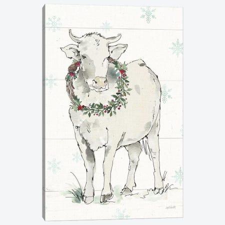 Modern Farmhouse X Christmas Canvas Print #ATA157} by Anne Tavoletti Canvas Art