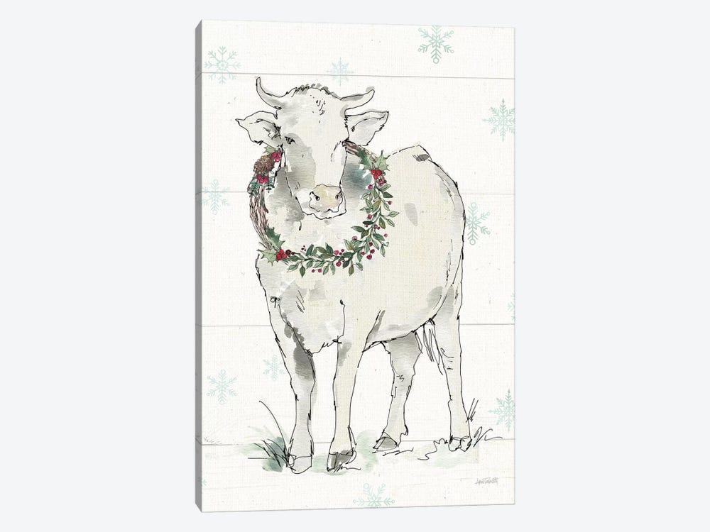 Modern Farmhouse X Christmas by Anne Tavoletti 1-piece Canvas Art Print