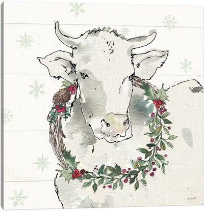 Modern Farmhouse XII Christmas Canvas Art Print