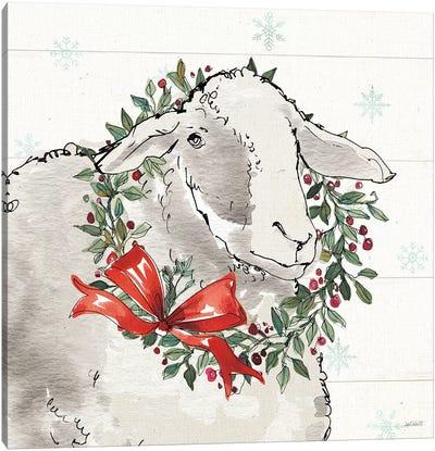 Modern Farmhouse XIII Christmas Canvas Art Print