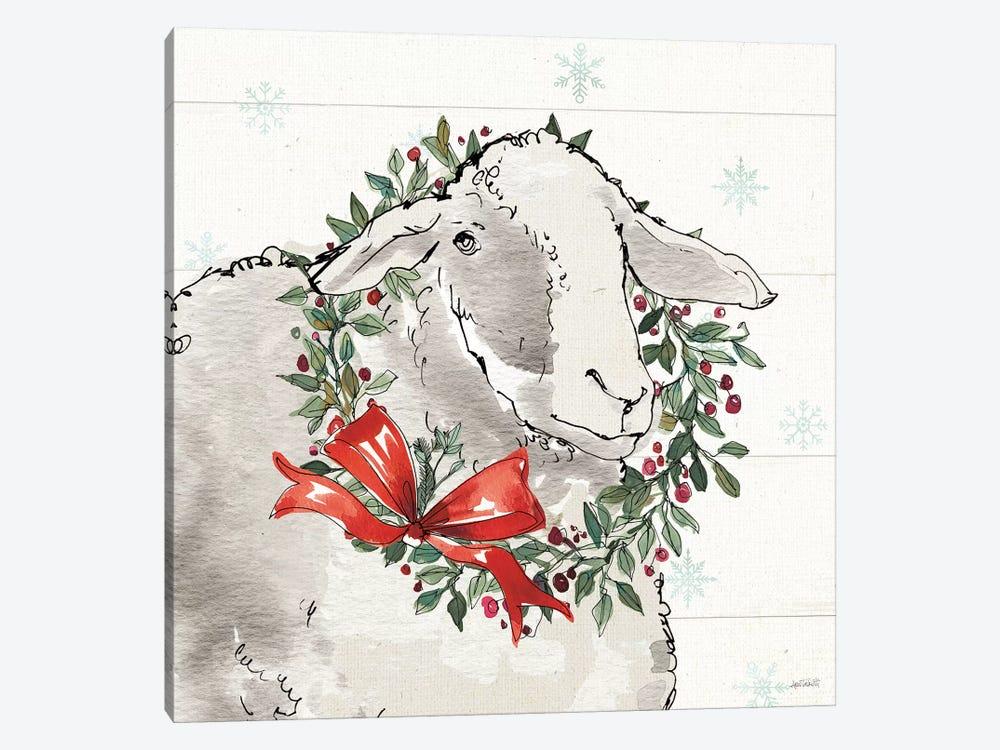 Modern Farmhouse XIII Christmas by Anne Tavoletti 1-piece Art Print