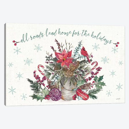 Seasonal Charm I 3-Piece Canvas #ATA17} by Anne Tavoletti Canvas Wall Art