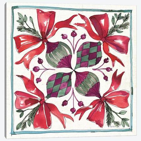 Seasonal Charm IX Canvas Print #ATA19} by Anne Tavoletti Canvas Print