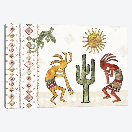 Southwest Flair I Canvas Print #ATA234} by Anne Tavoletti Canvas Art Print