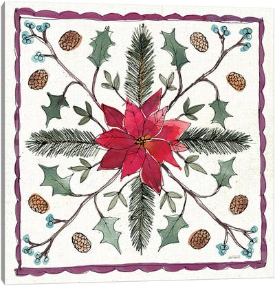 Seasonal Charm VIII Canvas Art Print