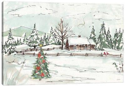 Seasonal Charm X Canvas Art Print