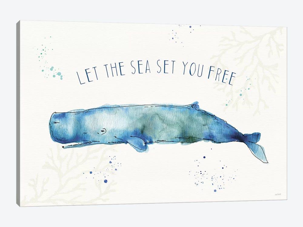Deep Sea I by Anne Tavoletti 1-piece Canvas Artwork