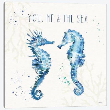 Deep Sea III 3-Piece Canvas #ATA31} by Anne Tavoletti Canvas Art Print