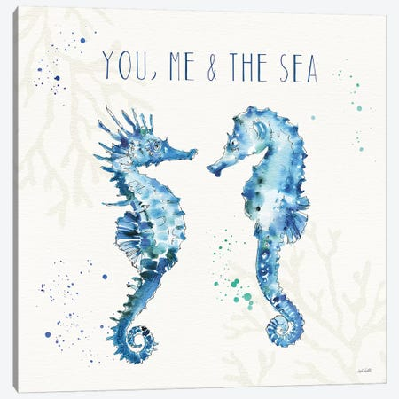 Deep Sea III Canvas Print #ATA31} by Anne Tavoletti Canvas Art Print
