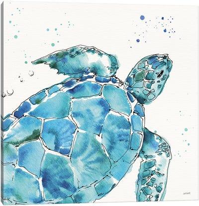 Deep Sea IX Canvas Art Print