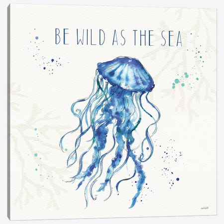 Deep Sea V Canvas Print #ATA34} by Anne Tavoletti Canvas Art