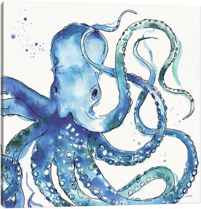 Deep Sea VIII Canvas Art Print