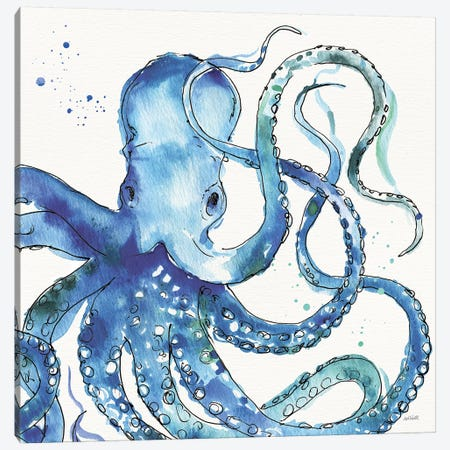 Deep Sea VIII Canvas Print #ATA35} by Anne Tavoletti Canvas Art