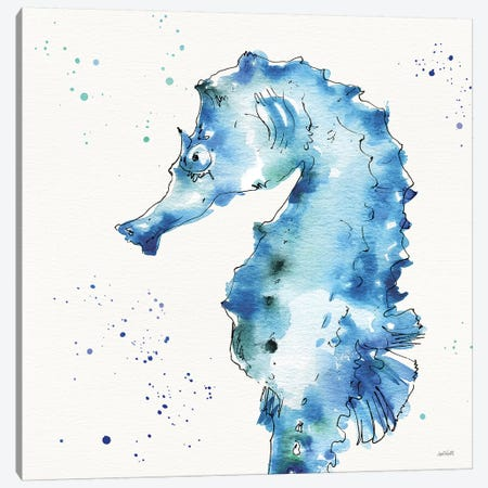 Deep Sea XI Canvas Print #ATA37} by Anne Tavoletti Canvas Art