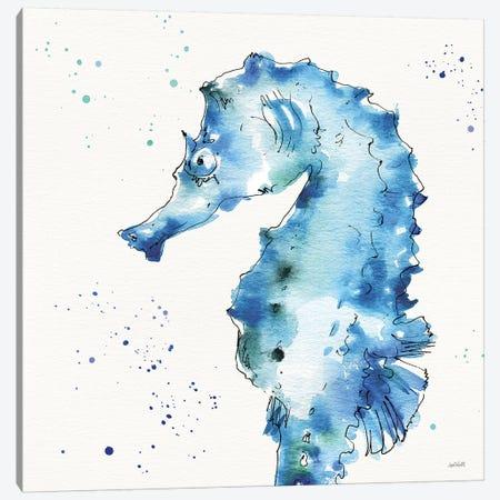 Deep Sea XI Canvas Print #ATA37} by Anne Tavoletti Canvas Art