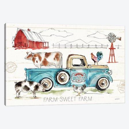 Down on the Farm I Canvas Print #ATA38} by Anne Tavoletti Art Print