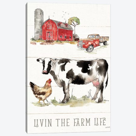 Country Life III Canvas Print #ATA3} by Anne Tavoletti Art Print