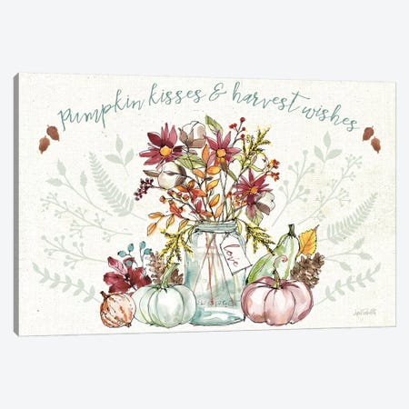 Festive Foliage I Canvas Print #ATA4} by Anne Tavoletti Canvas Artwork