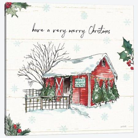 Have a Very Merry Christmas Canvas Print #ATA50} by Anne Tavoletti Art Print