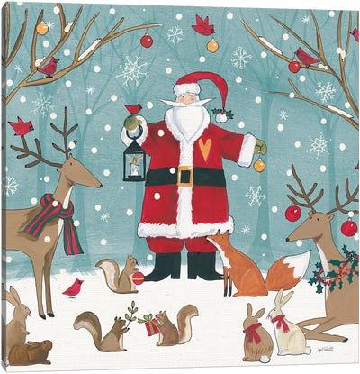 Woodland Christmas VI Canvas Art Print